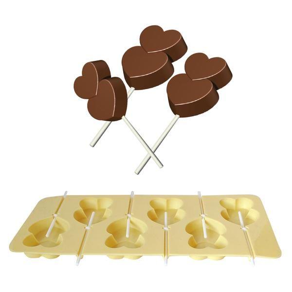 Tvořítko na čokoládová, karamelová lízátka, silikon Toro
