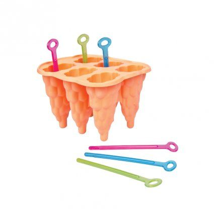 Tvořítko na zmrzlinu, nanuky silikon 6ks Toro