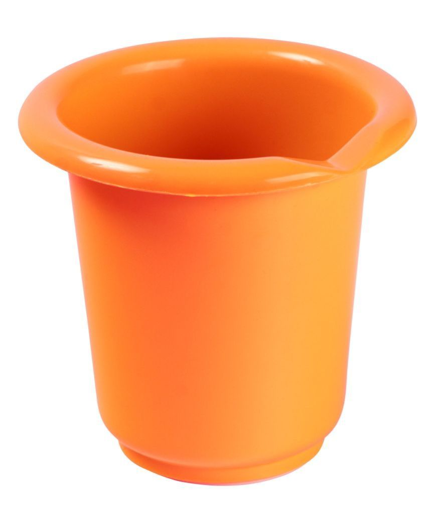 Vysoká mísa na šlehání s výlevkou, 1L, oranžová OKT