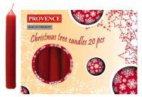 Provence Svíčka 100x13mm 20ks bílá 560105