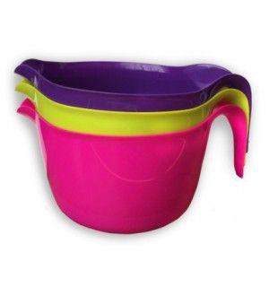 Mísa na šlehání 3L plast - fialová Toro