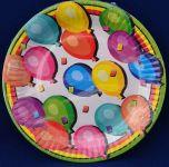 Párty talířky Balonky 10ks
