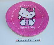 Párty talířky Hello Kitty 8ks