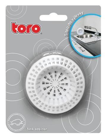 sítko do dřezu 7 cm, plast 2 ks Toro