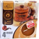 Admit svíčka čajová Maxi 4ks aroma - Anti tabák 972789