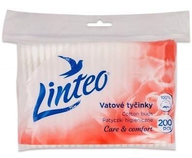 Vatové tyčinky 200 ks Linteo