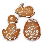 vykrajovátka kuřátko, vajíčko,králíček Smolík