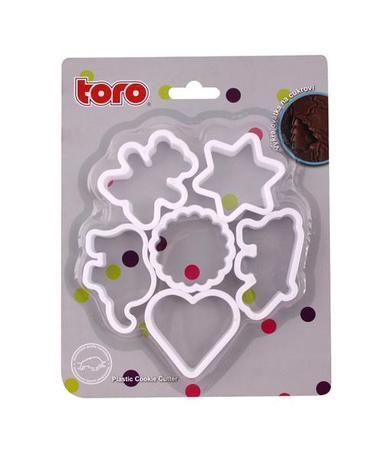 Vykrajovátka Plast set 6 ks Toro