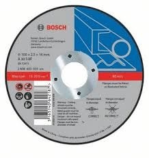 Dělicí kotouč rovný for Metal, 115x2,5 mm Bosch