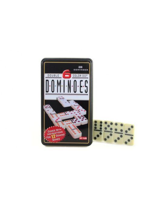 Domino v plechové krabičce Lamps