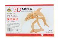 Lamps Dřevěné puzzle 3D Delfín 069747