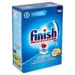 Finish Classic Lemon tablety do myčky nádobí 100 ks