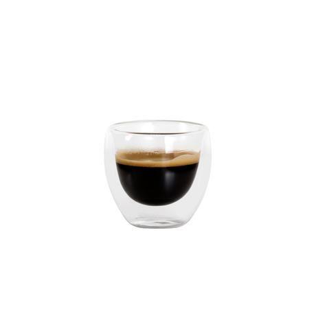 Hrnek Espresso, dvojité borosilikátové sklo, 100 ml Toro