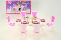 Lamps jídelní stůl Glorie 48 dílů 023128