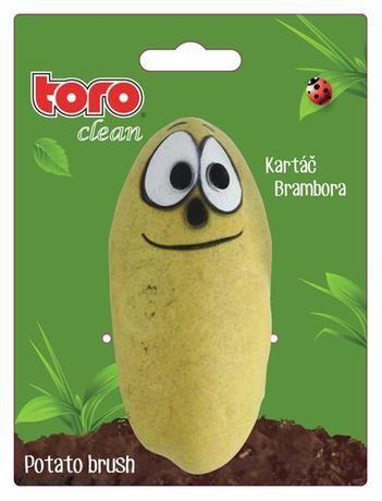kartáč na čištění zeleniny ve tvaru brambory Toro