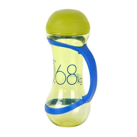 Láhev sportovní, činka 560 ml, sv.zelená Lock