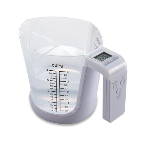 Váha digitální s odměrkou max 3kg Toro