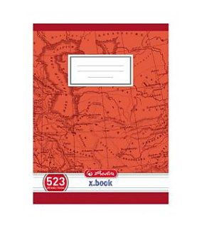 Školní sešit 523 A5 20 listů, linkovaný Herlitz