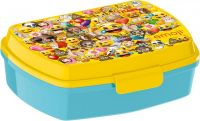 Storline Svačinový box Emoji plast 17x14x6 cm