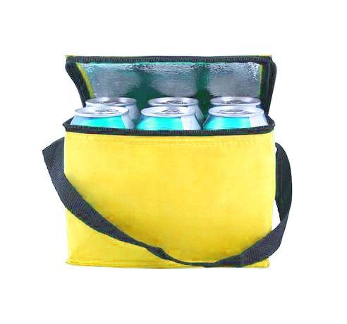 Termo taška na zip - žlutá Toro