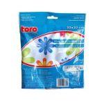 Utěrka mikrovlákno květy 30x30cm 250g/m2 Toro