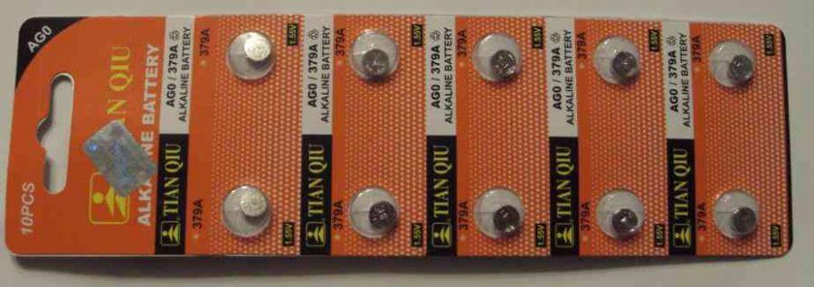 Baterie AG0 - 379A - LR63