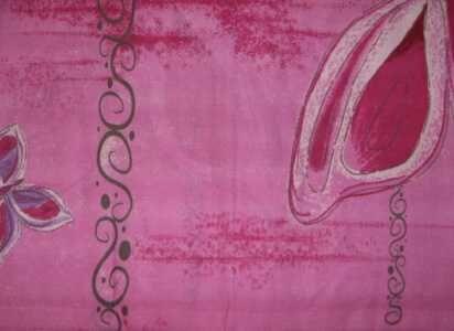 Povlečení na dvoulůžko motýl - růžový David