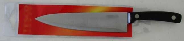 Nůž černý kuchařský max TORO