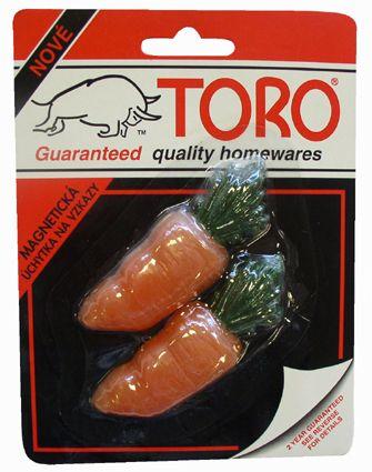 Magnet - mrkev 2ks Toro