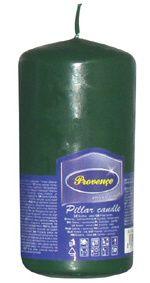 Svíčka válec - zelená Provence