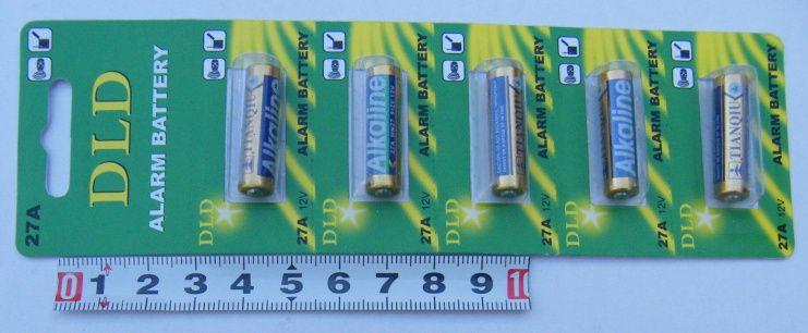 Baterie 27A MN27, 12v, 1ks, blistr Mincell