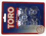 Háčky - přísavky 4ks Toro