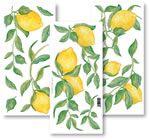 Samolepící dekorace - citron Crearreda