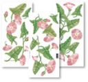 Samolepy dekor - růžové květy