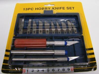 Nůž set - vyřezávací 13 dílů Noname