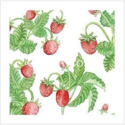 Samolepící dekorace - jahody 2ks 22x15 cm Crearreda