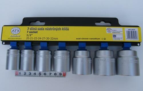 ATX - Sada ořechů 20-32mm