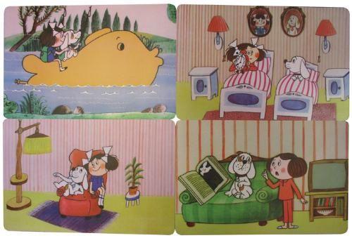 Prostírání dětské - Káťa a Škubánek - gauč 44x28 cm Toro