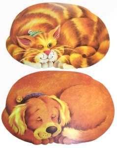 Prostírání kočka 2D 45x30 cm TORO