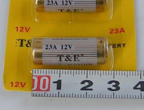 Baterie 23A / A23 12V