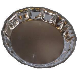 Miska malá - kov 14x2cm - pocín TORO