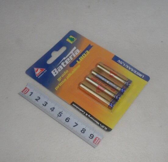 Bateria Slaný - R03 alkalická - plato 4ks