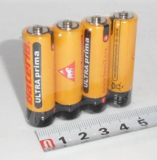 Bateria Slaný - R6 - AA 4ks