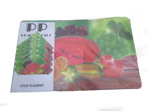 Prostírání 6+6 mix ovoce / 11264 Noname
