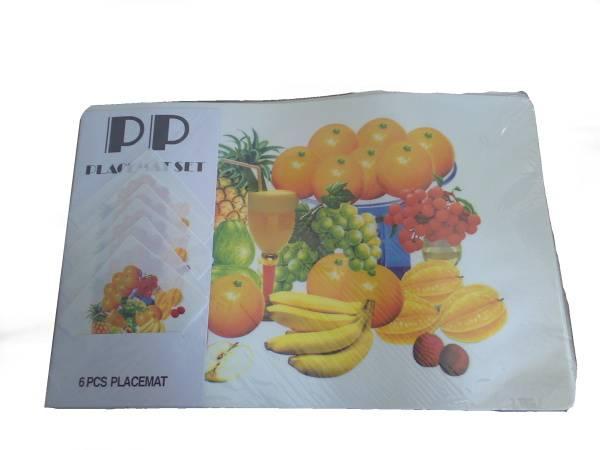 Prostírání 6+6 mix ovoce / 11266 Noname