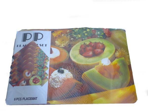Prostírání 6+6 mix ovoce / 11268 Noname