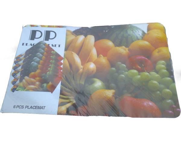Prostírání 6+6 mix ovoce / 11260 Noname