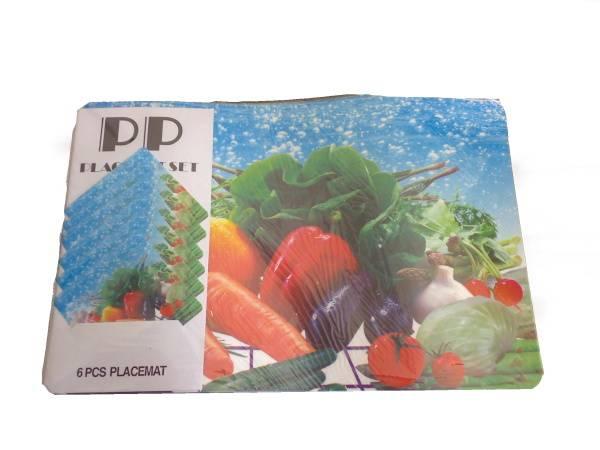 Prostírání 6+6 mix zeleniny / 11267 Noname